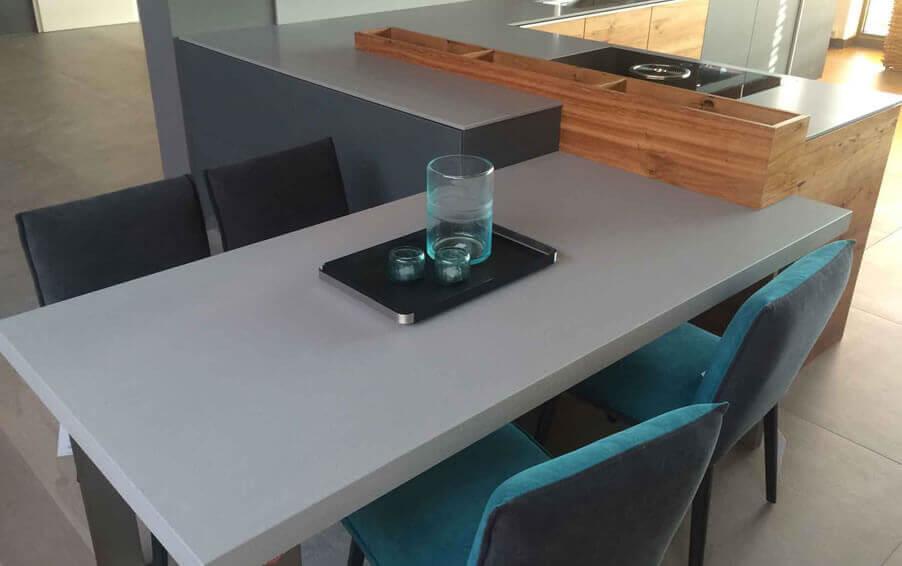 Lapitec Worktop: Grigia Cemento